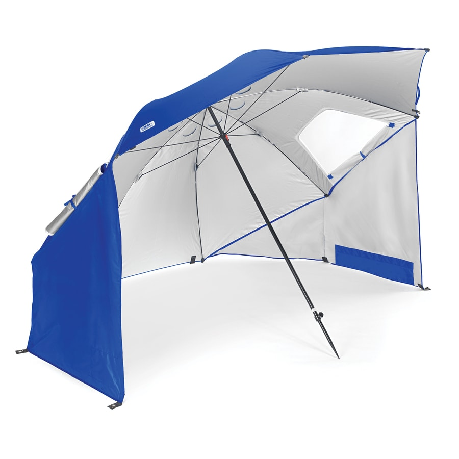 Sport-Brella 54.72-in Blue SportBrella Automatic Bubble Umbrella