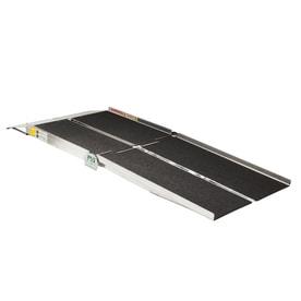 prairie view industries 6ft x 30in aluminum portable automotive wheelchair ramp