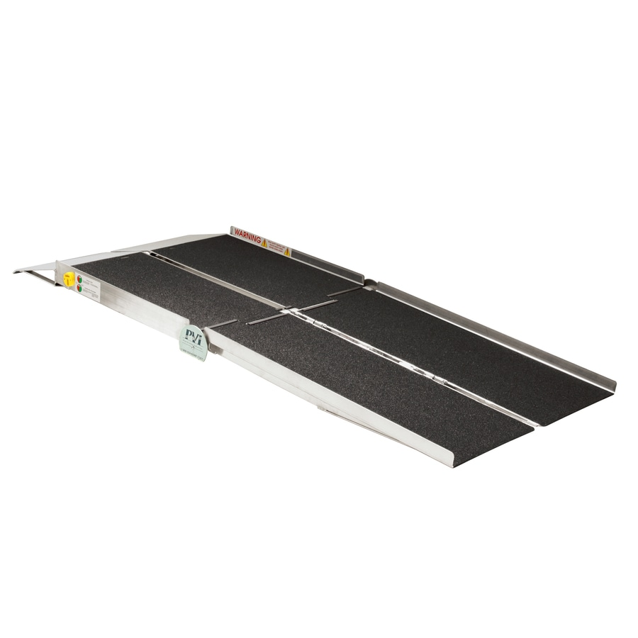 Prairie View Industries 10-ft x 30-in Aluminum Portable Automotive Wheelchair Ramp
