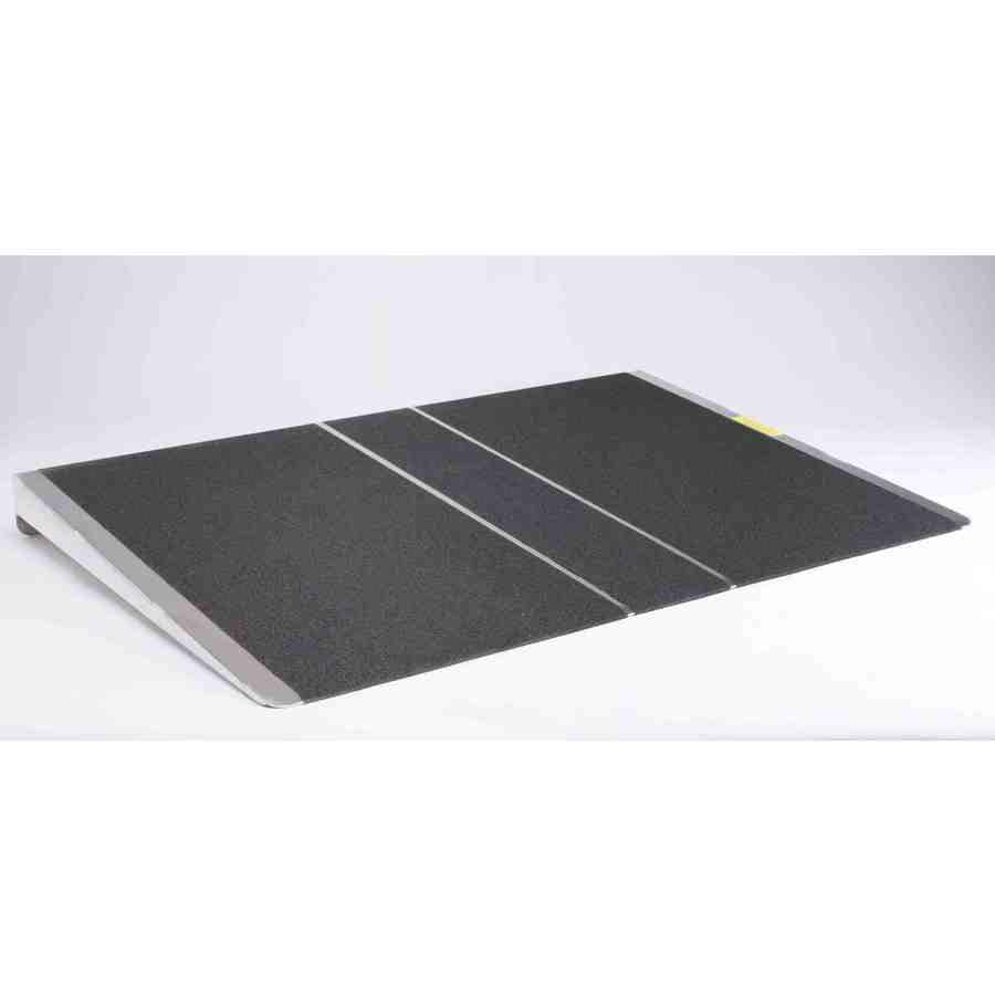 Prairie View Industries 2-ft x 36-in Aluminum Threshold Doorway Wheelchair Ramp