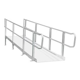 Shop wheelchair ramps components at for Prefab wheelchair ramp