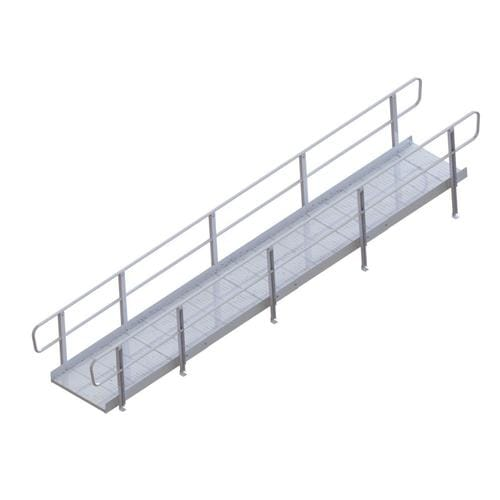 20-ft x 36-in Aluminum Modular Entryway Wheelchair Ramp on portable home ramps, garage ramps, barn ramps, house ramps, lowe's ramps, prefabricated handicapped ramps, home depot loading ramps, mobile yard ramps, storage unit ramps, home handicap ramps, mobile container ramps, trailer ramps, warehouse ramps, truck ramps, residential ramps, mobile loading ramps, boat ramps, mobile skate ramps, apartment stair ramps, home made car ramps,
