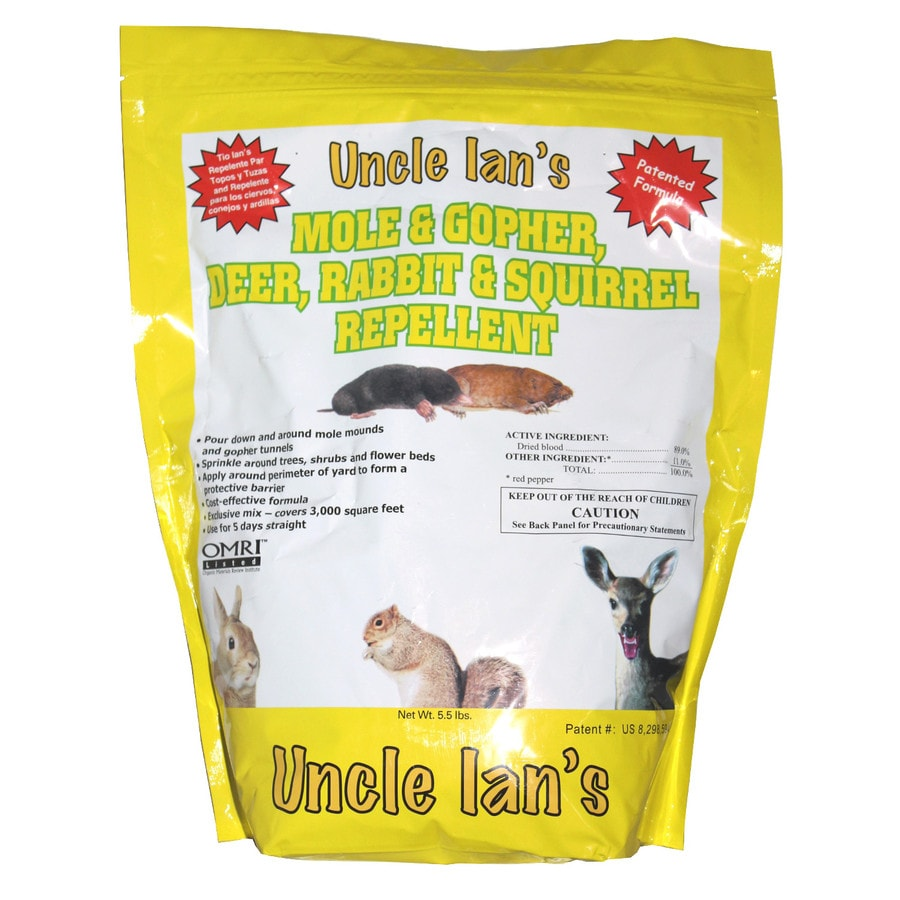 Uncle Ian's Organic Animal Repellent