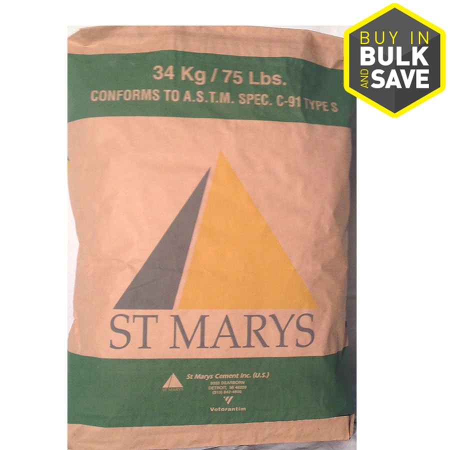 St Marys Cement Mortar 75-lb Gray Type - S Mortar Mix