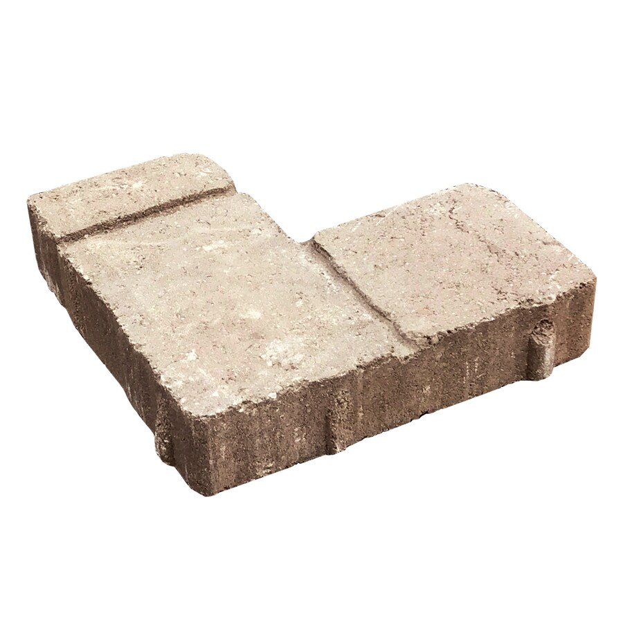 Lundurra Rustic Tan/Slate Interlocking Sections Paver (Common: 12-in x 12-in; Actual: 11.5-in x 11.5-in)