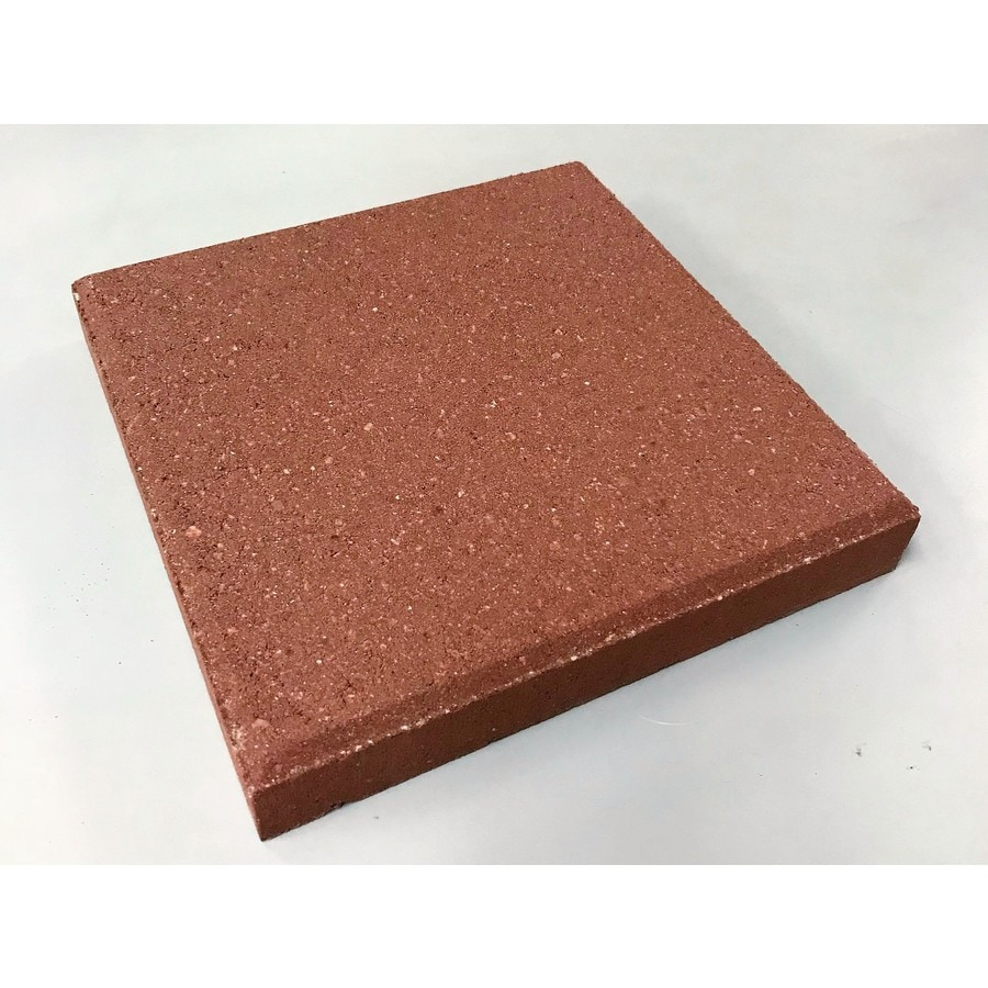Square Red Patio Stone