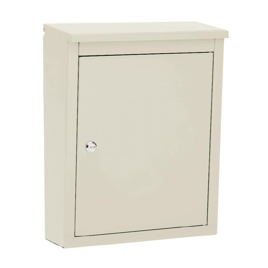 Architectural Mailboxes Soho 12-in x 15.5-in Metal Sand Lockable Wall Mount Mailbox