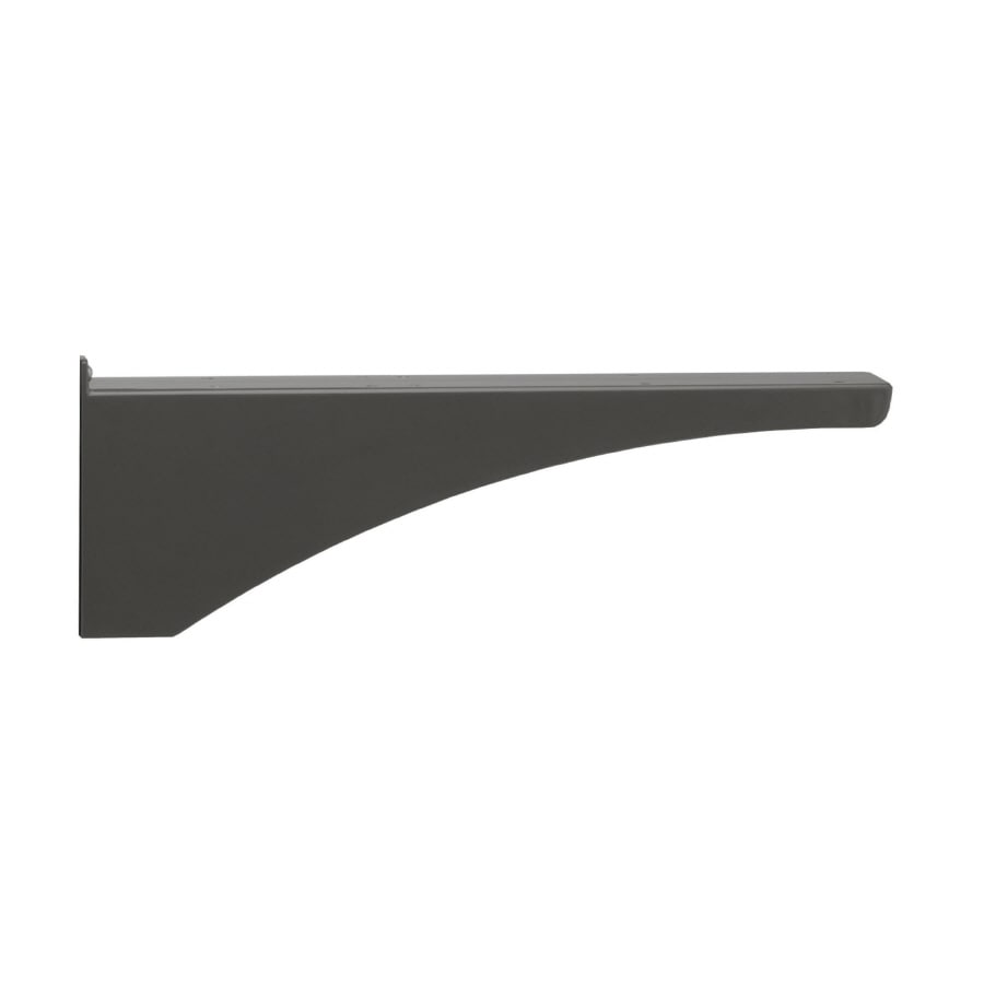 Architectural Mailboxes Decorative Post Side Bracket Black