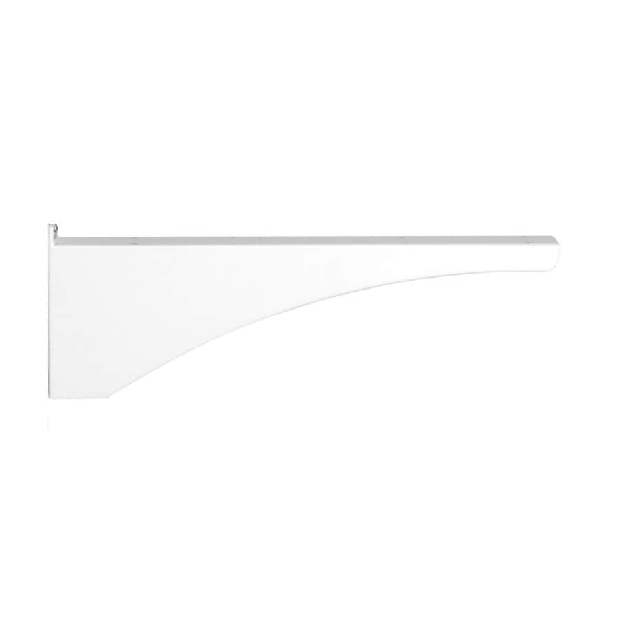 Architectural Mailboxes Decorative Post Side Bracket White