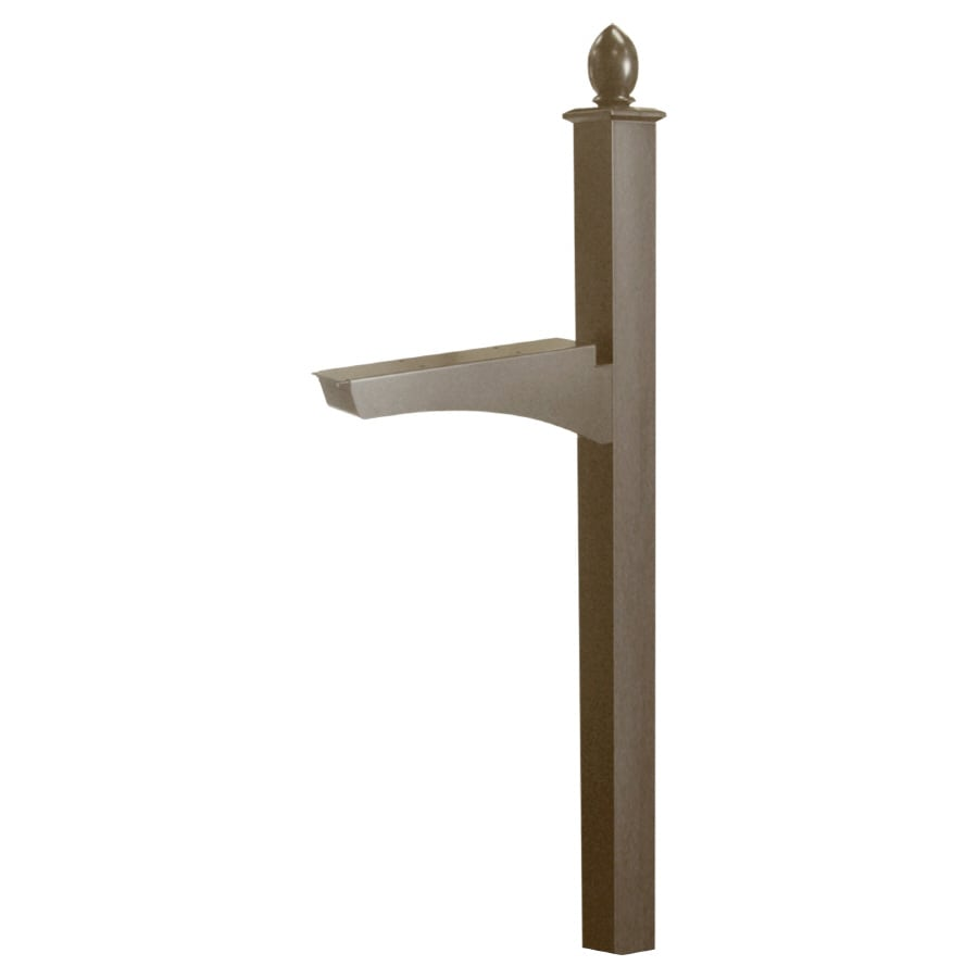 Architectural Mailboxes Bronze Aluminum Mailbox Post