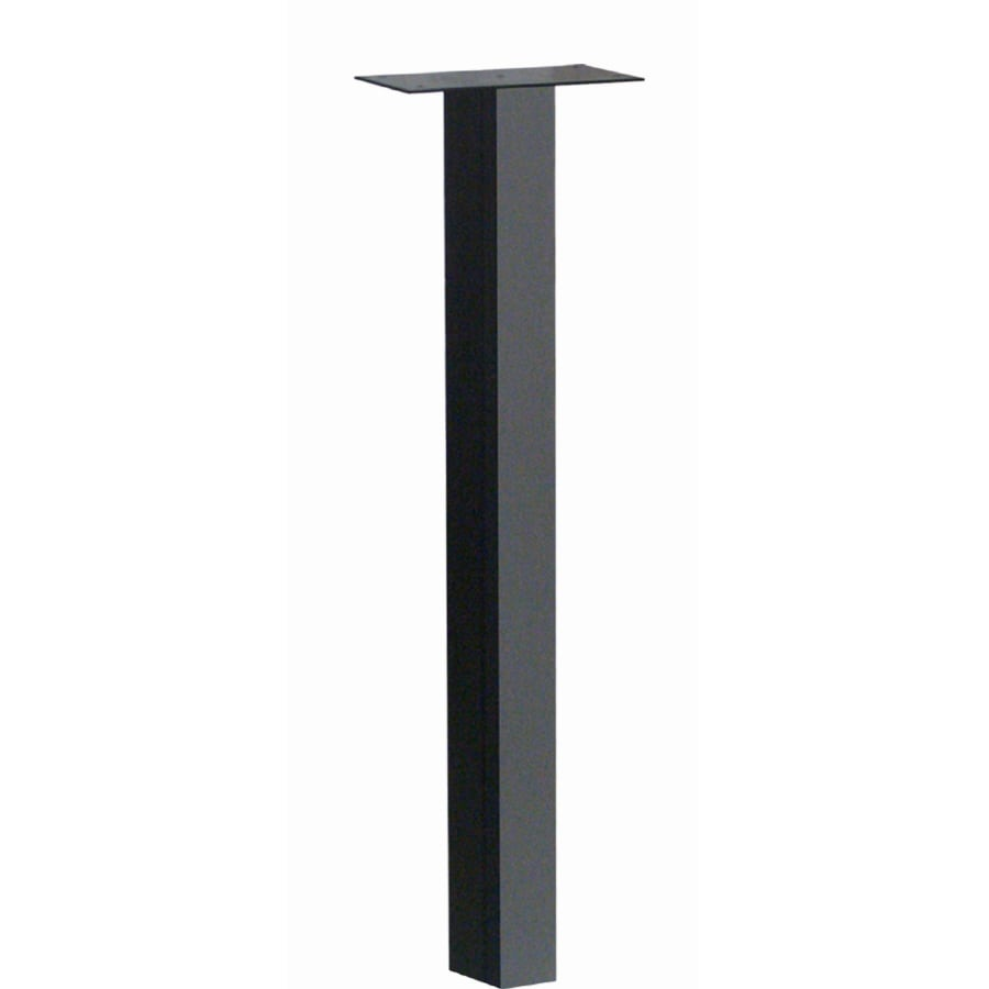 Architectural Mailboxes Black Steel Mailbox Post