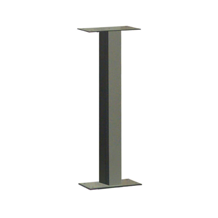 Architectural Mailboxes 38-in Steel Surface Mount Post Bronze Mailbox Post