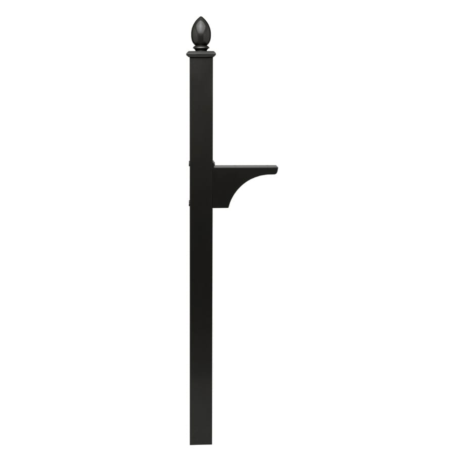 Architectural Mailboxes Black Aluminum Mailbox Post
