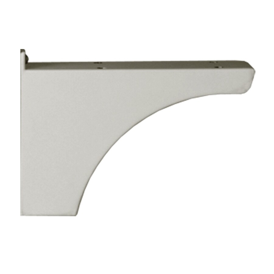 Architectural Mailboxes Pearl Gray Decorative Post Side Bracket
