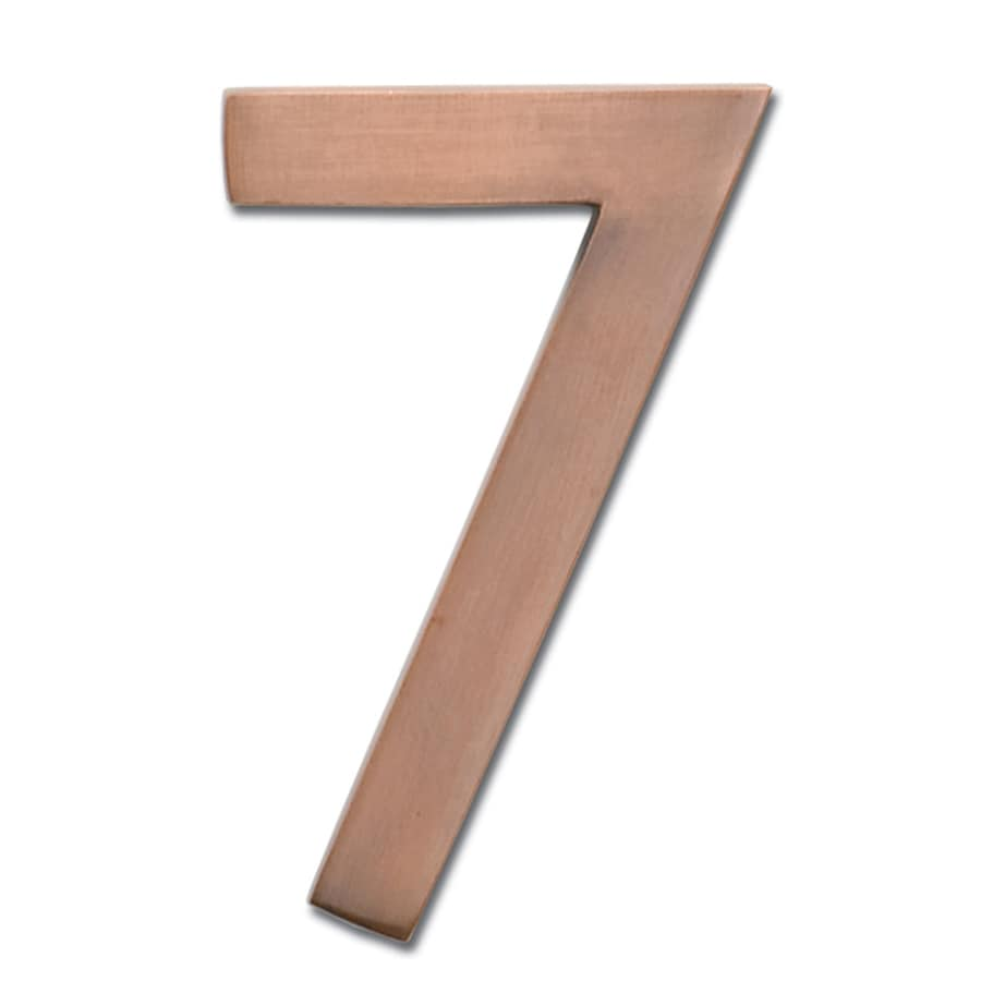 Architectural Mailboxes 4-in Stainless Steel House Number 7