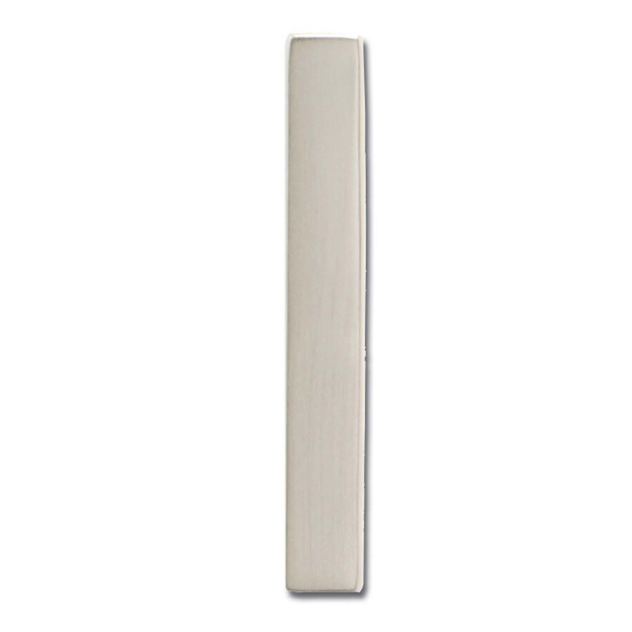 Architectural Mailboxes 5-in Satin Nickel House Number 1