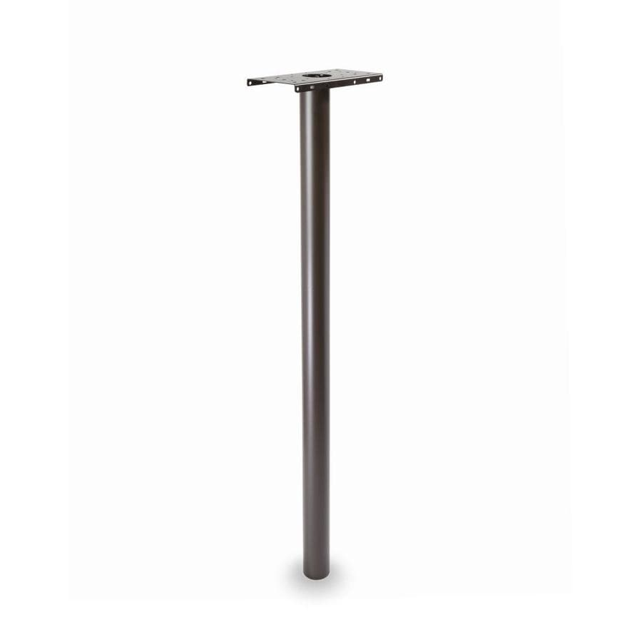 Architectural Mailboxes Rubbed Bronze Steel Mailbox Post