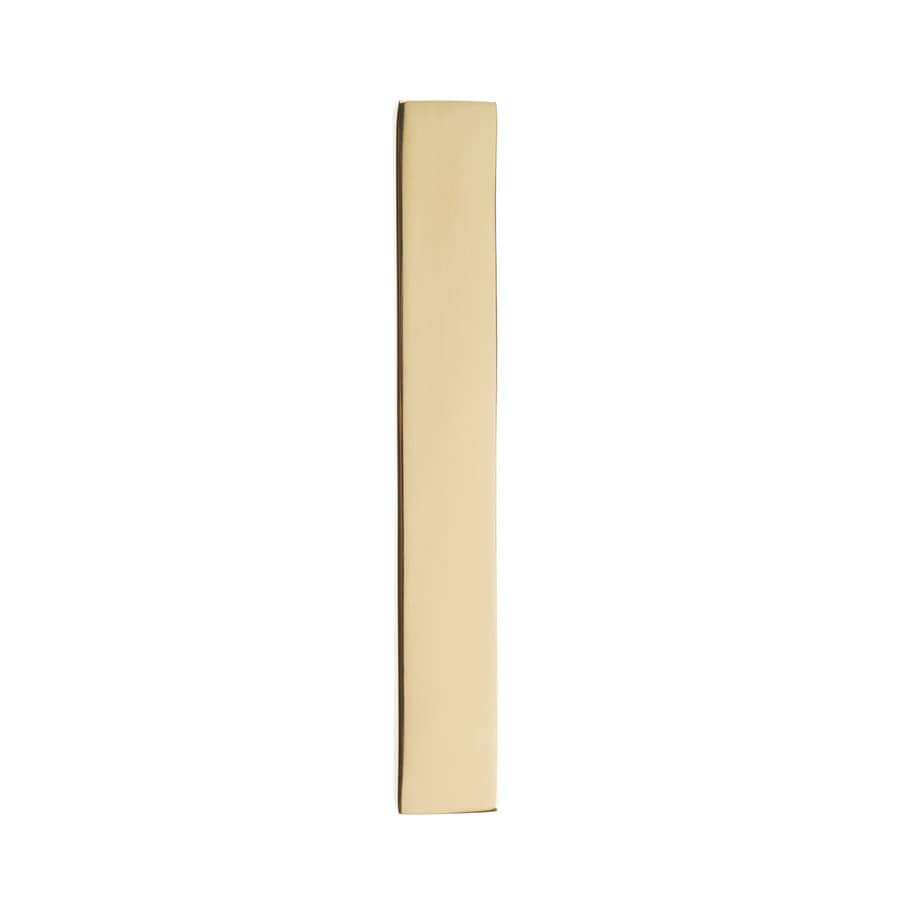 Architectural Mailboxes 5-in Polished Brass House Number 1