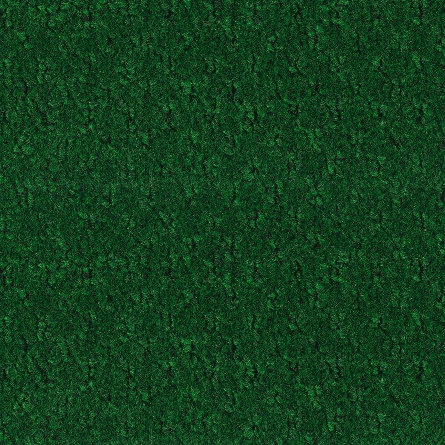 Shop Forest Green Textured Interior/Exterior Carpet at Lowes.com
