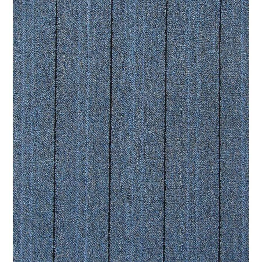 9 pack 23 5 in brown berber loop peel and stick carpet tile at lowes com