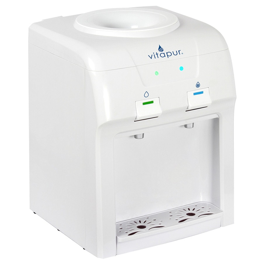 cold water dispenser shop vitapur white top loading cold water cooler at lowes 11061