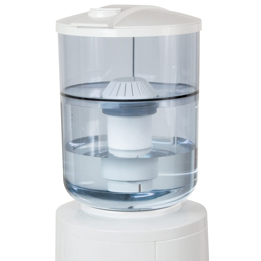 Vitapur 10.2-in x 10.2-in x 15.4-in Water Dispenser Complete Filtration System
