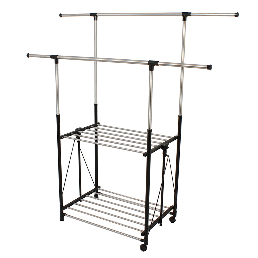 Greenway Silver Steel Garment Rack