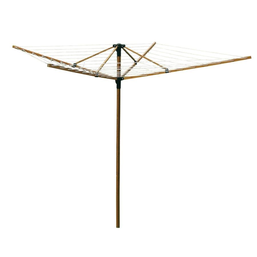 Greenway 1-Tier Mixed Material Umbrella Clothesline