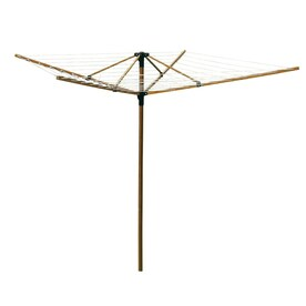 Greenway 1 Tier Mixed Material Umbrella Clothesline