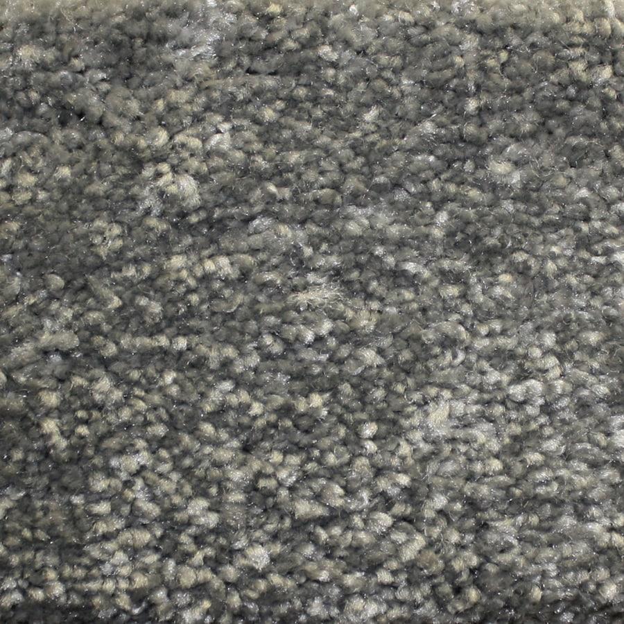 Looptex Mills Barely Rustic Gray Cut Pile Indoor Carpet