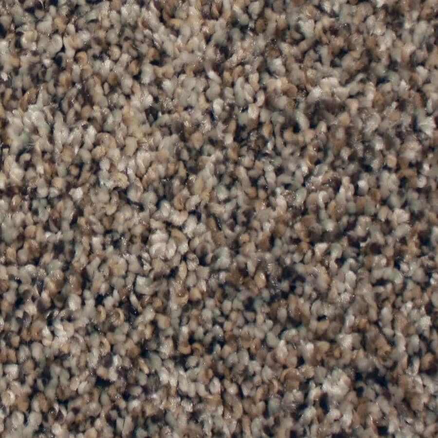 STAINMASTER Essentials Sonora 12-ft W x Cut-to-Length Island Trail Textured Interior Carpet