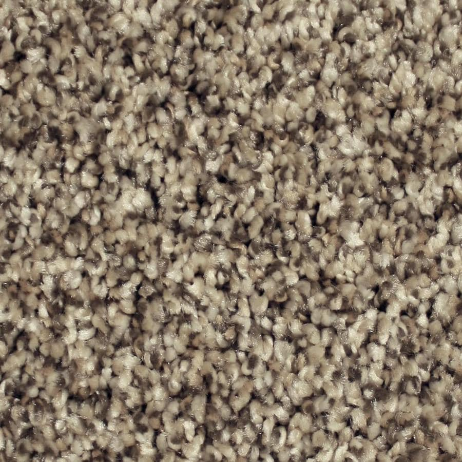 STAINMASTER Essentials Channing 12-ft W x Cut-to-Length Harbor Cove Textured Interior Carpet