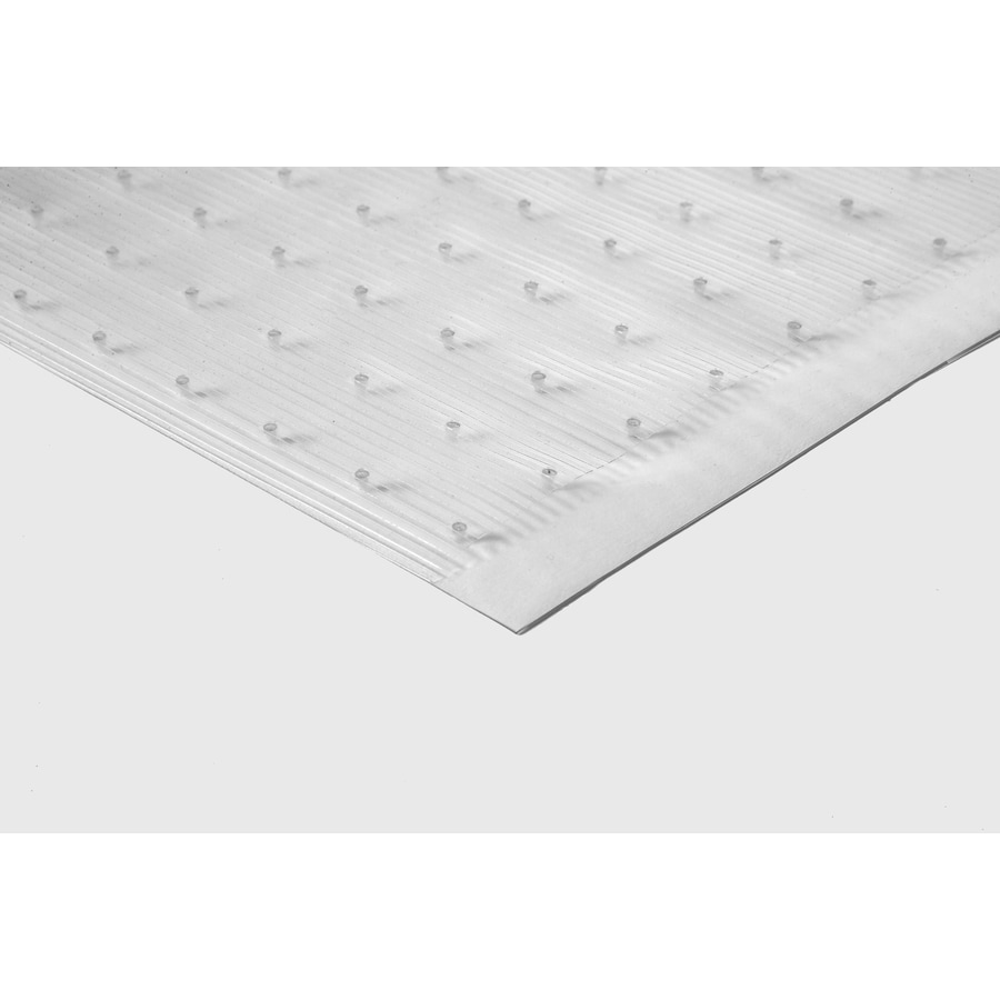 Tenex Clear Rectangular Utility Mat (Common: 2-Ft x 6-Ft; Actual: 27-in x 72-in)