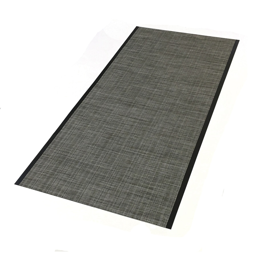 Tenex 27-in x 60-in Brownstone Loose Lay PVC Plastic Sheet Multipurpose Flooring