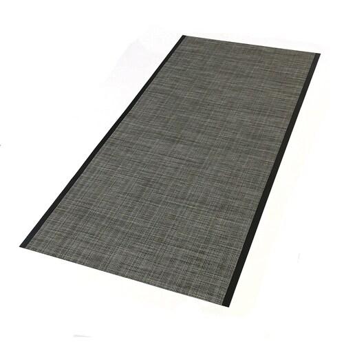 Tenex 27 In X 60 In Brownstone Loose Lay Pvc Plastic Sheet