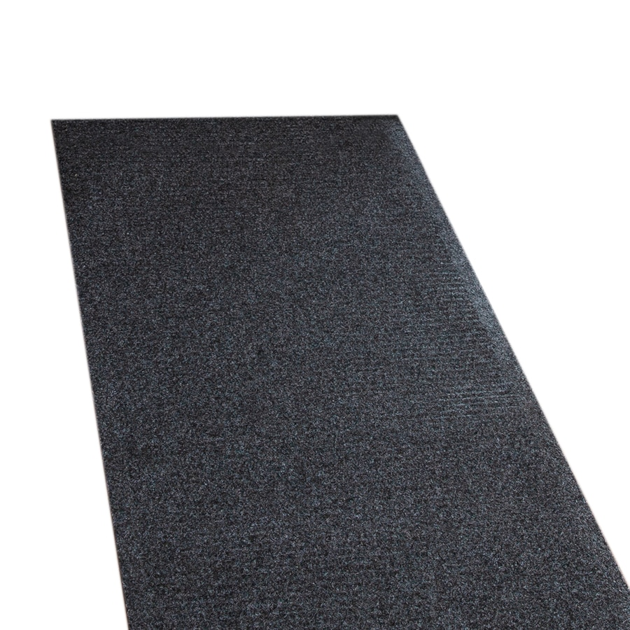 Tenex Hilo 27 In W Cut To Length Pepper Extruded Polyester Utility Runner