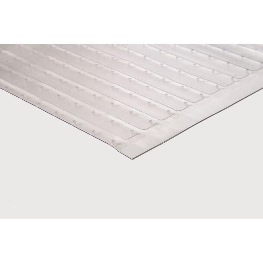 Shop Tenex 27 In In W Cut To Length Clear Extruded Vinyl Utility Runner By