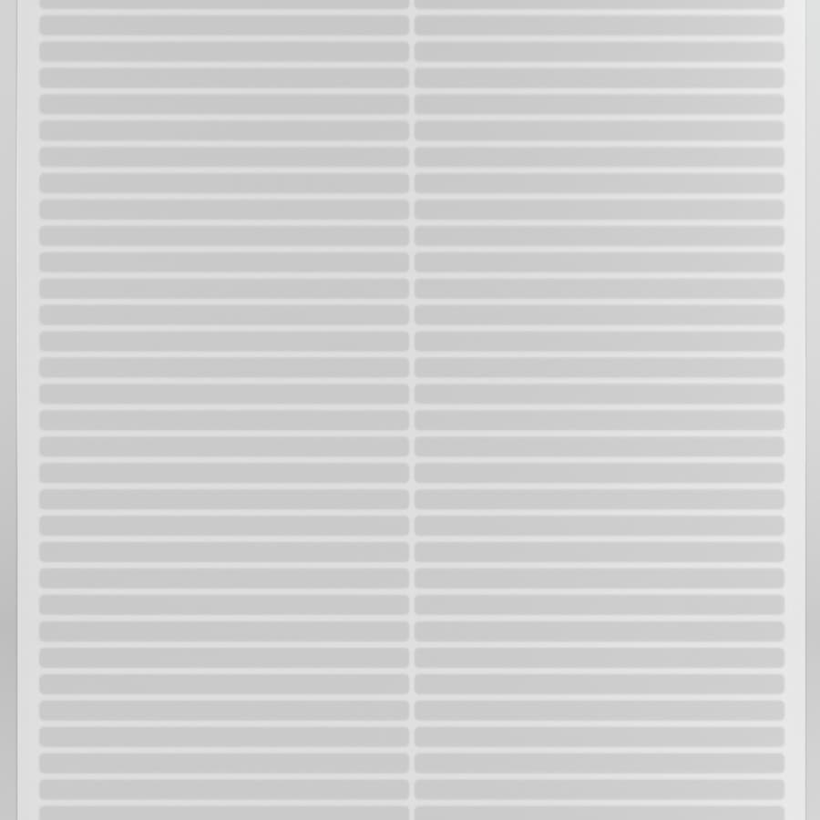 Tenex 27-in W Cut-to-Length Clear Extruded Vinyl Utility Runner (By-the-Foot)