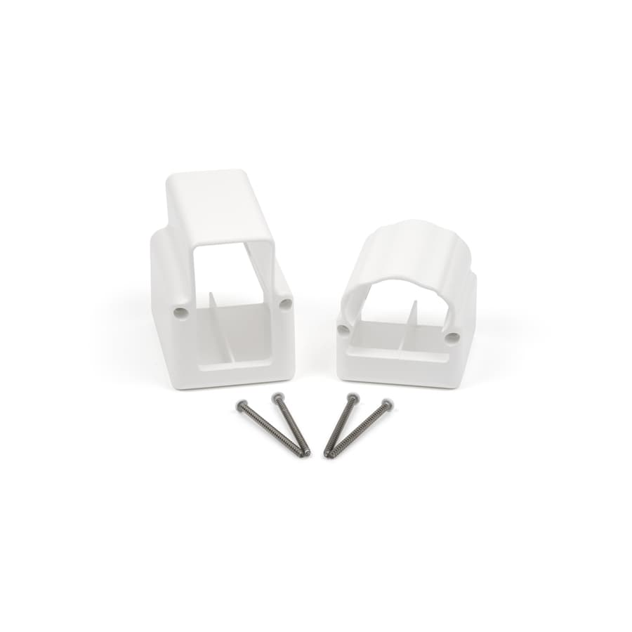 Fiberon 1-Pair White Deluxe Stair Bracket