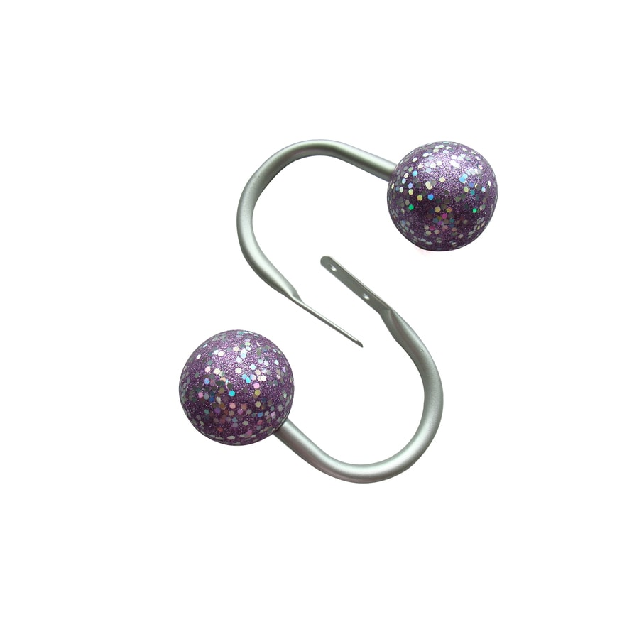 shop style selections 2 purple steel curtain