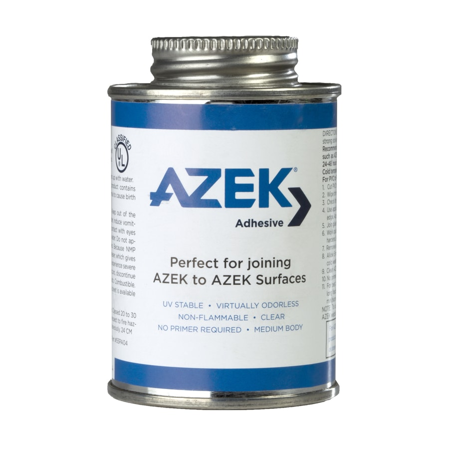 AZEK Clear Exterior Contact Cement Construction Adhesive (Actual Net Contents: 4-fl oz)