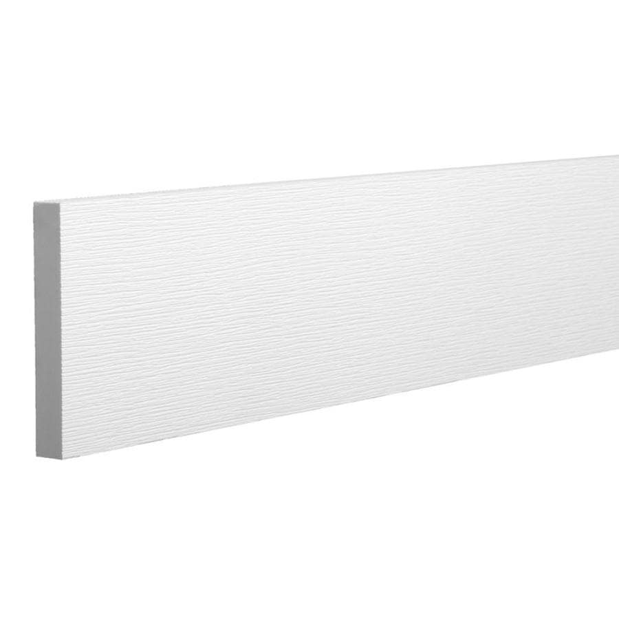 Azek Actual 1 In X 5 5 In X 8 Ft Trim Board Pvc Board