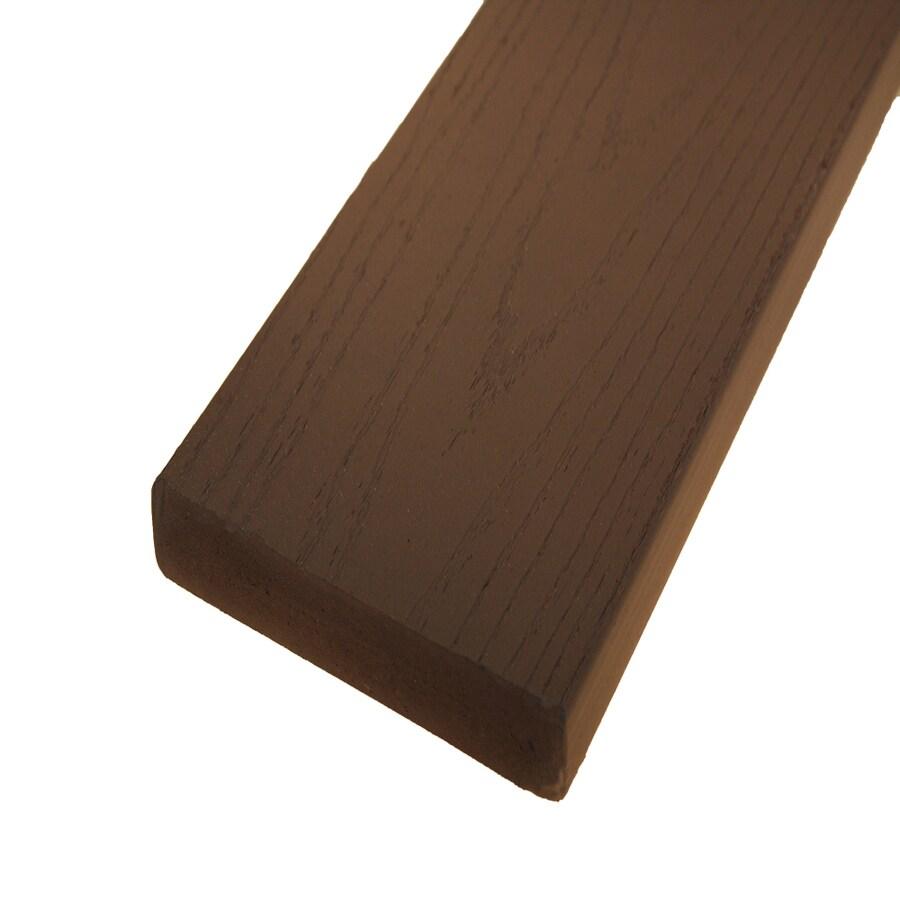 AZEK Sedona Composite Decking (Common: 5/4-in x 6-in x 12-ft; Actual: 1-in x 5-1/2-in x 12-ft)