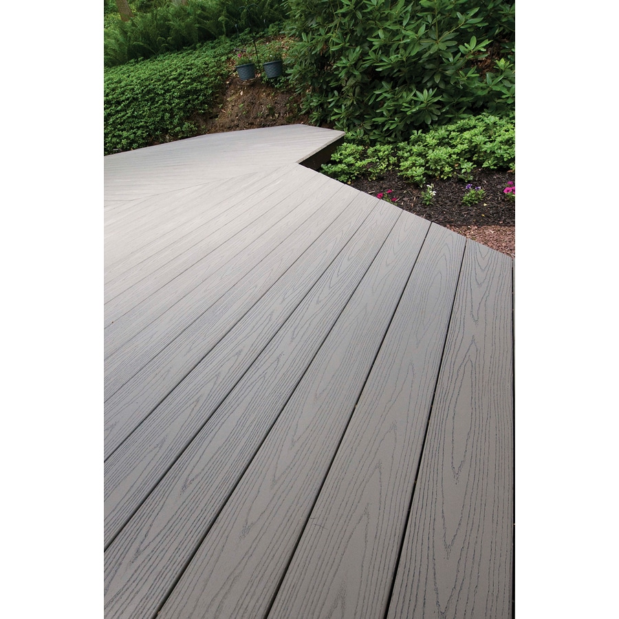 AZEK Terra Collection Tahoe Ultra-Low Maintenance (ULM) Composite Decking (Common: 1-in x 5.5-in x 20-ft; Actual: 1-in x 5.5-in x 20-ft)