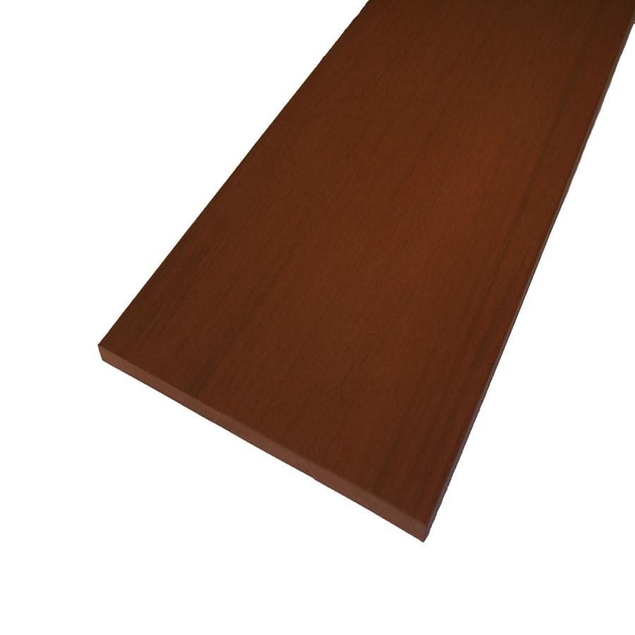 AZEK Redland Rose Composite Deck Trim Board (Actual: 1/2-in x 11-3/4-in x 12-ft)