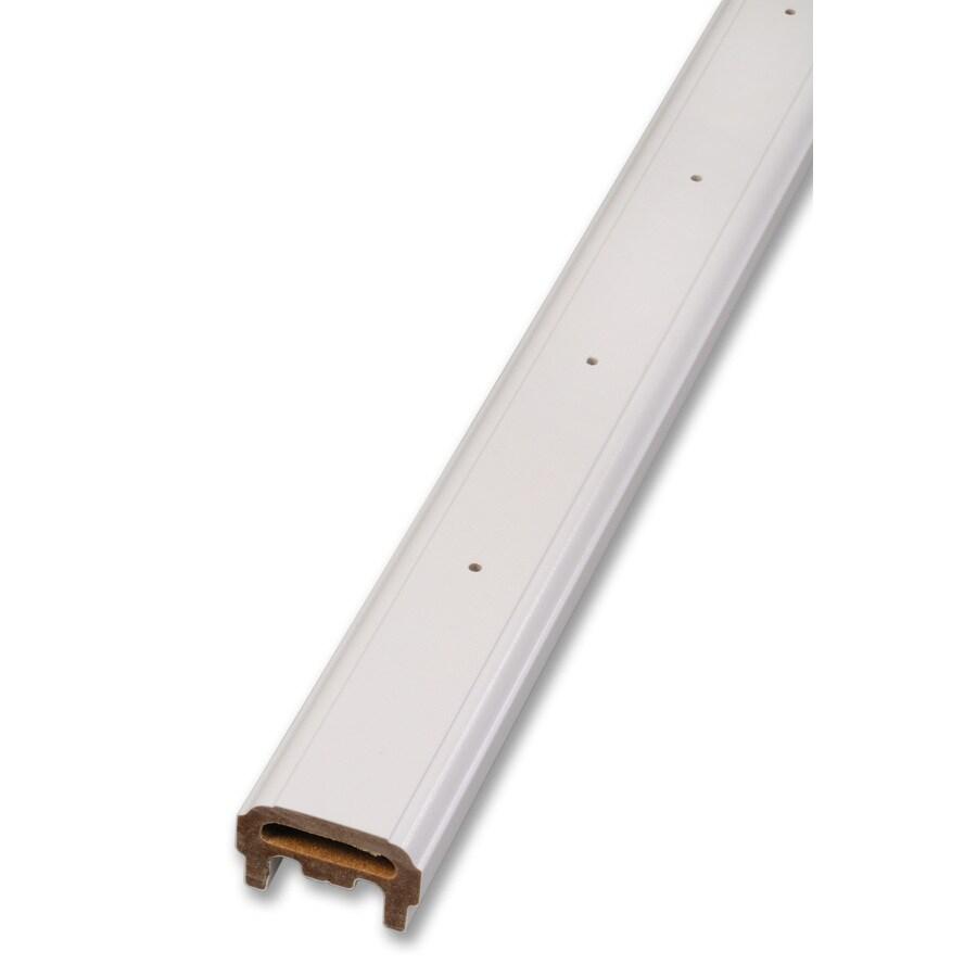 AZEK 96-in White Composite Deck Railing Kit