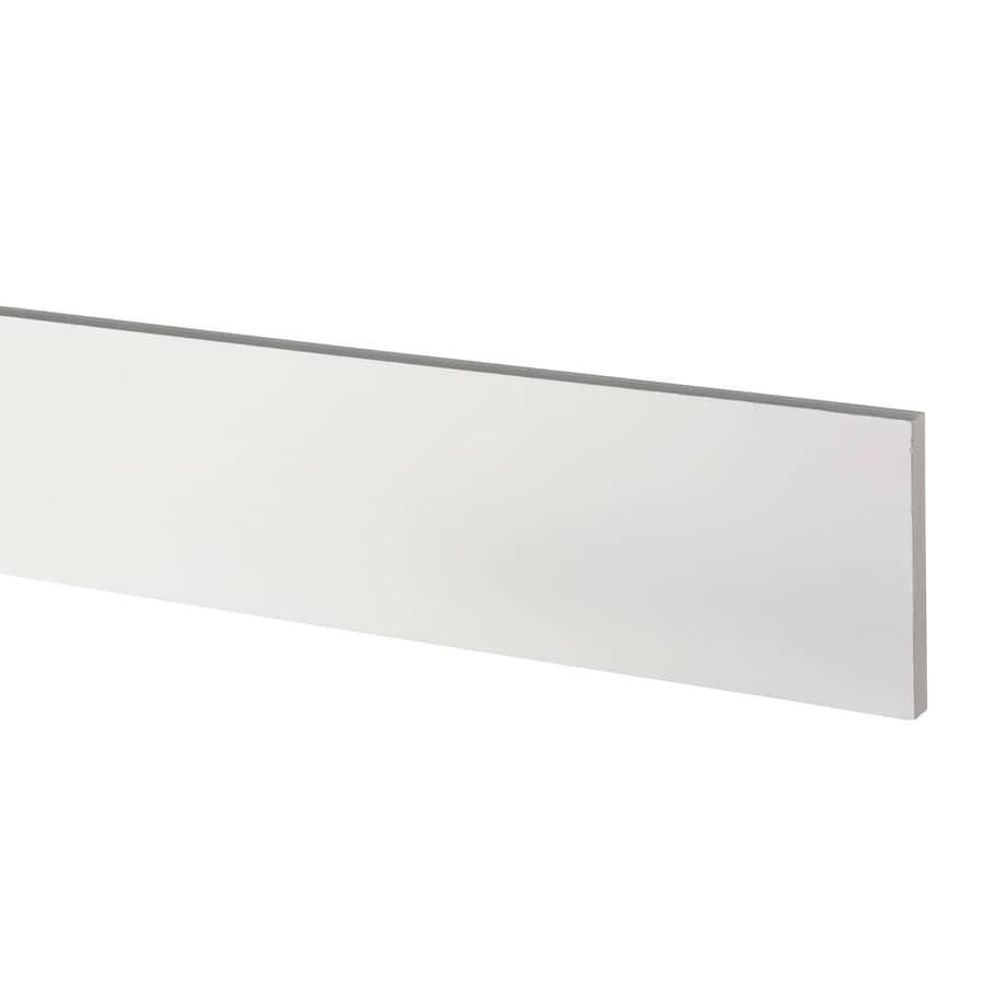 AZEK (Actual: 0.63-in x 5.5-in x 18-ft) Traditional PVC Board