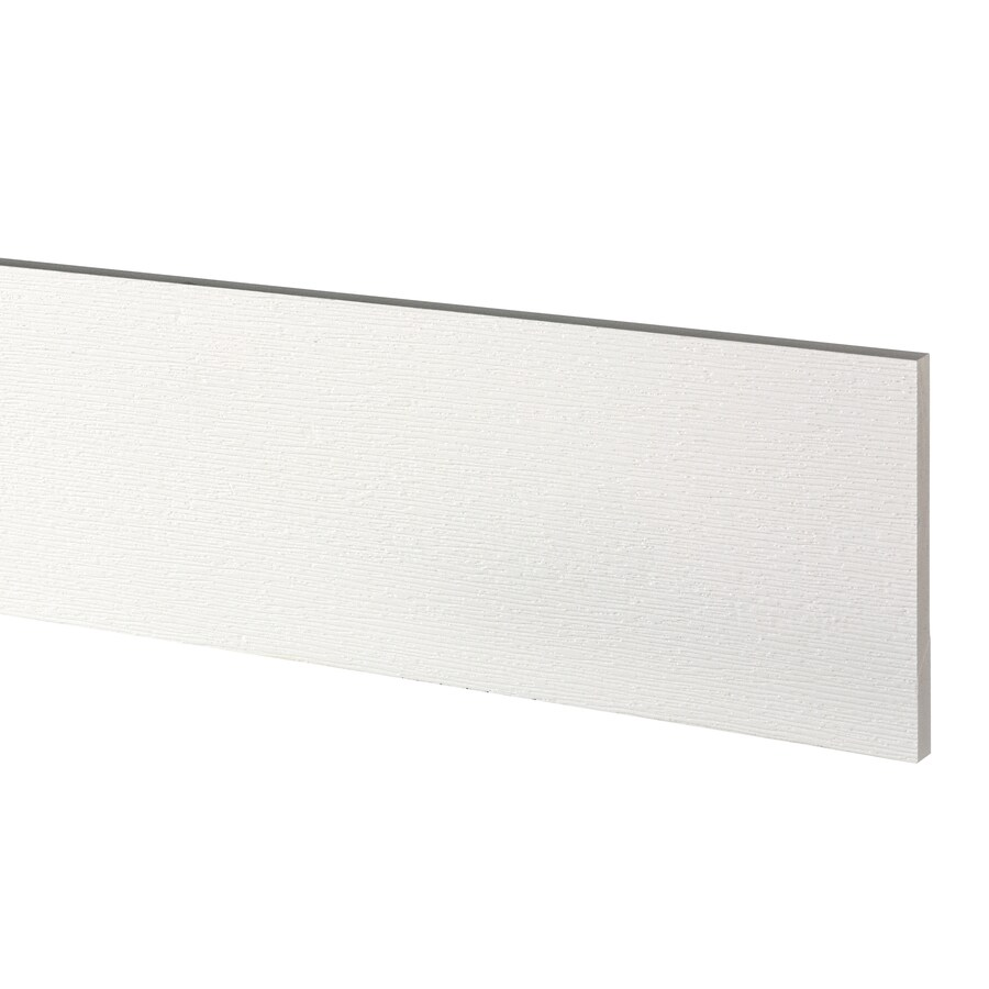 AZEK (Actual: 0.63-in x 7.25-in x 12-ft) Traditional PVC Board