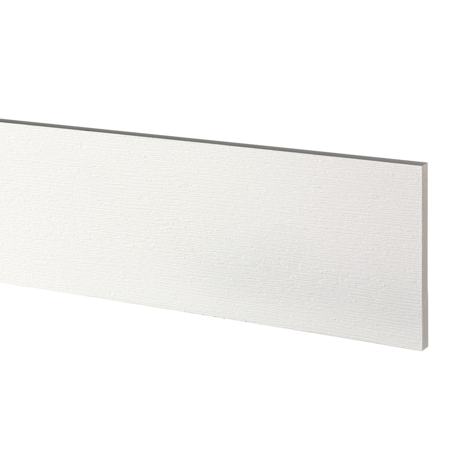 AZEK (Actual: 0.63-in x 7.25-in x 18-ft) Traditional PVC Board