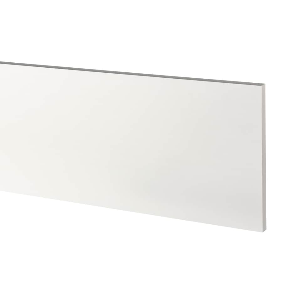 AZEK (Actual: 0.63-in x 9.25-in x 18-ft) Traditional PVC Board
